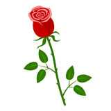Kwiatu mieszkania ikona Zdjęcie Stock