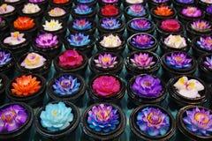 Kwiatu mydło Fotografia Royalty Free