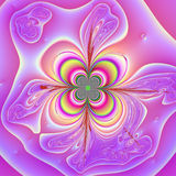 kwiatu neon Fotografia Royalty Free