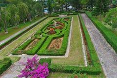 Kwiatu ogród w Bao Dai pałac 3 obraz royalty free