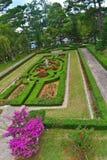 Kwiatu ogród w Bao Dai pałac 3 obraz stock
