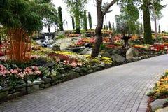 Kwiatu ogródu wyspa Zdjęcie Royalty Free