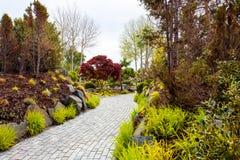 Kwiatu ogródu wyspa Zdjęcia Royalty Free