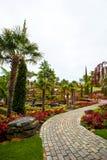 Kwiatu ogródu wyspa Obrazy Royalty Free