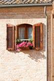 kwiatu okno Fotografia Stock