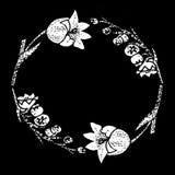 Kwiatu okrąg Obrazy Stock