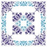 kwiatu ornament Obrazy Royalty Free