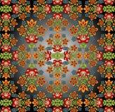 kwiatu ornament Zdjęcia Royalty Free