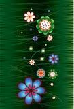 kwiatu ornament Obraz Royalty Free
