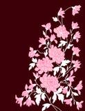 kwiatu ornamentu rocznik Zdjęcia Royalty Free