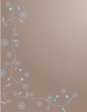 kwiatu ornamentu zawijas Zdjęcie Stock