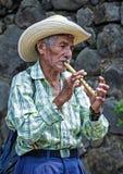 Kwiatu & palmy festiwal w Panchimalco, Salwador Zdjęcie Royalty Free