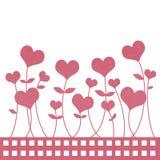 kwiatu papier przetwarza valentine Fotografia Royalty Free