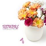 Kwiatu piękny bukiet Zdjęcie Royalty Free