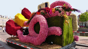 Kwiatu pojazd Fotografia Stock