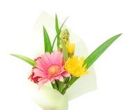 kwiatu prezenta opakowanie Zdjęcia Stock