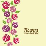 Kwiatu projekt ilustracja wektor