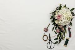 Kwiatu przygotowania 5 Zdjęcia Royalty Free