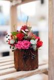 Kwiatu przygotowania zakończenie Obraz Royalty Free