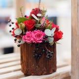Kwiatu przygotowania zakończenie Zdjęcia Royalty Free