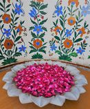 Kwiatu puchar Jaipur, India - Fotografia Royalty Free
