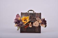 Kwiatu pudełko Obraz Stock