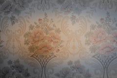 kwiatu rocznika tła tekstury tapetowego starego projekta piękny styl Obrazy Stock