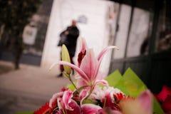 Kwiatu rynek Zdjęcie Royalty Free