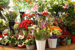 kwiatu rynek Fotografia Stock