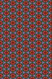 kwiatu serc wzór bezszwowy Obrazy Stock