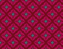 Kwiatu serca wzory Obrazy Royalty Free