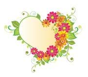 kwiatu serce Fotografia Royalty Free
