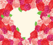 kwiatu serce Obrazy Stock