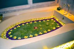 Kwiatu skąpanie Zdjęcia Royalty Free