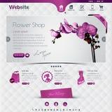 Kwiatu sklep ilustracji