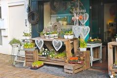 Kwiatu sklep w Gorinchem. Fotografia Royalty Free