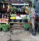 kwiatu sklepu rynku szczęśliwy bubel fotografia stock