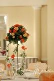 kwiatu stół Zdjęcia Stock