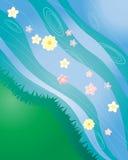 kwiatu strumień ilustracji