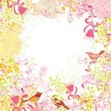 Kwiatu tło royalty ilustracja