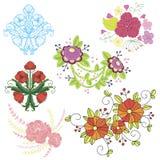 Kwiatu tło Zdjęcia Stock