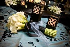 kwiatu tabletop Zdjęcia Royalty Free