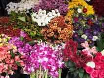 Kwiatu targowy rynek zdjęcie royalty free