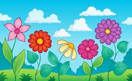 Kwiatu tematu wizerunek 8 Zdjęcia Royalty Free