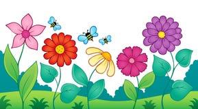 Kwiatu tematu wizerunek 9 Zdjęcia Royalty Free