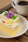 Kwiatu tort Obraz Royalty Free