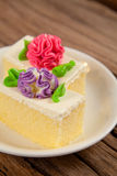 Kwiatu tort Obrazy Stock