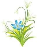 kwiatu trawy wiosna ilustracji