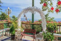 Kwiatu łuk Zdjęcie Royalty Free