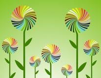 kwiatu wektor Obraz Stock